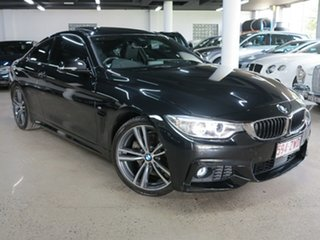 2016 BMW 4 Series F32 430i M Sport Black 8 Speed Sports Automatic Coupe.