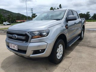 2016 Ford Ranger PX MkII XLS Double Cab Aluminium 6 Speed Manual Utility