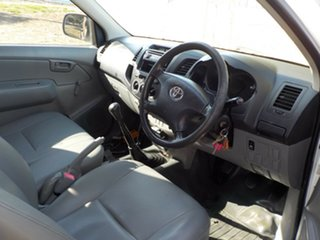 2006 Toyota Hilux TGN16R MY05 Workmate 4x2 5 Speed Manual Cab Chassis