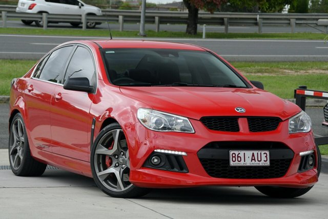 Used Holden Special Vehicles ClubSport Gen-F MY15 R8 North Lakes, 2015 Holden Special Vehicles ClubSport Gen-F MY15 R8 Red 6 Speed Sports Automatic Sedan