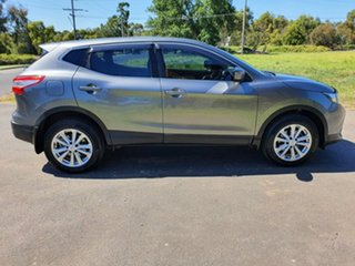 2017 Nissan Qashqai J11 ST Grey Constant Variable Wagon.