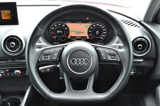 2018 Audi A3 8V MY19 35 TFSI Sportback S Tronic Red 7 Speed Sports Automatic Dual Clutch Hatchback