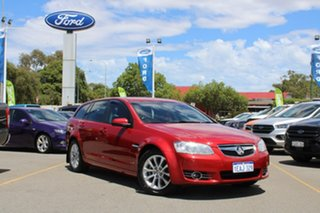 2013 Holden Berlina VE II MY12.5 Sportwagon Red 6 Speed Sports Automatic Wagon.