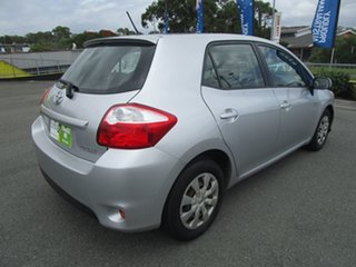 2011 Toyota Corolla ZRE152R MY11 Ascent Silver 4 Speed Automatic Hatchback