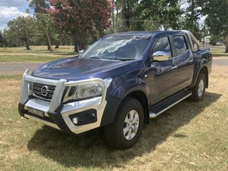 2015 Nissan Navara D23 ST Blue 7 Speed Sports Automatic Utility.
