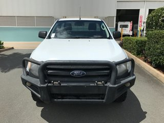 2014 Ford Ranger PX XL Plus Frozen White 6 speed Automatic Cab Chassis.