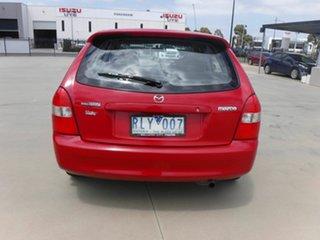 2002 Mazda 323 BJ II-J48 Protege Red 4 Speed Automatic Sedan
