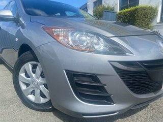 2011 Mazda 3 BL10F1 MY10 Neo Silver 6 Speed Manual Hatchback.