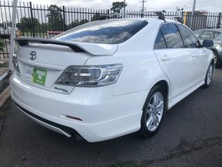 2011 Toyota Aurion GSV40R 09 Upgrade Sportivo SX6 White 6 Speed Auto Sequential Sedan.