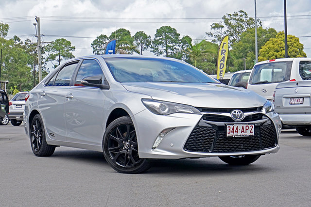 Used Toyota Camry ASV50R RZ Chandler, 2016 Toyota Camry ASV50R RZ Classic Silver 6 Speed Sports Automatic Sedan