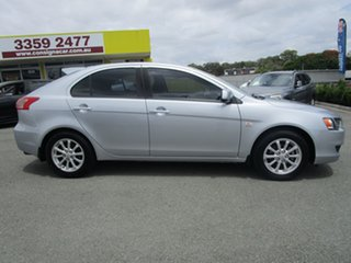 2011 Mitsubishi Lancer CJ MY11 SX Sportback Silver 6 Speed Constant Variable Hatchback