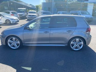 2011 Volkswagen Golf VI MY12 R DSG 4MOTION Grey 6 Speed Sports Automatic Dual Clutch Hatchback