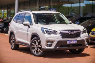 2020 Subaru Forester S5 2.5I Premium White Constant Variable SUV.