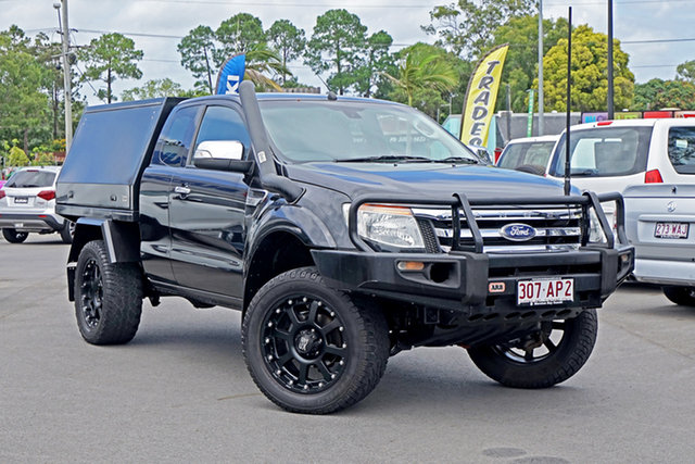 Used Ford Ranger PX XLT Super Cab Chandler, 2014 Ford Ranger PX XLT Super Cab Black 6 Speed Sports Automatic Utility