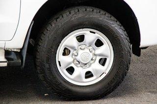 2013 Toyota Hilux KUN26R MY12 SR Xtra Cab Glacier White 5 Speed Manual Utility