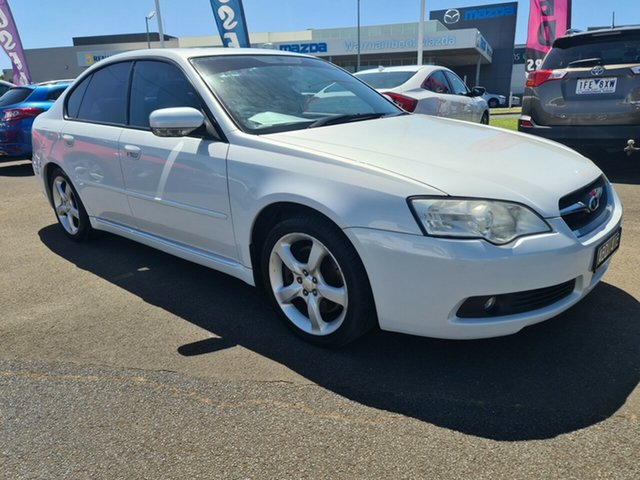 Used Subaru Liberty B4 MY06 3.0R AWD Warrnambool East, 2006 Subaru Liberty B4 MY06 3.0R AWD White 5 Speed Sports Automatic Sedan