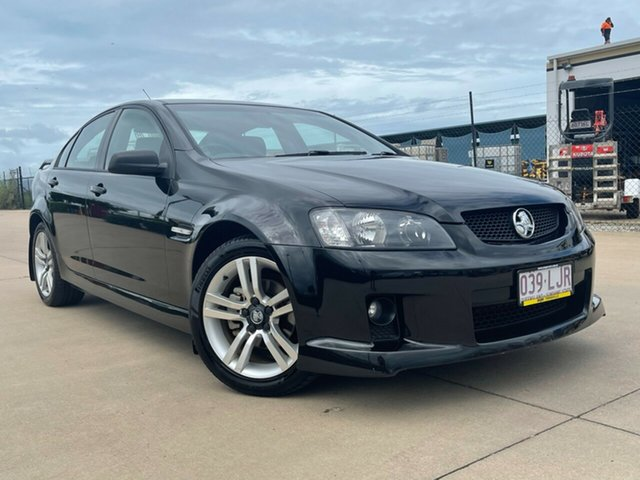 Used Holden Commodore VE SV6 Townsville, 2008 Holden Commodore VE SV6 Black 5 Speed Sports Automatic Sedan