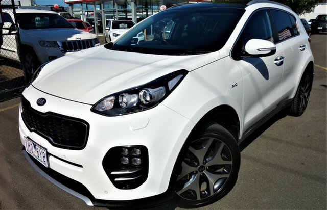 Used Kia Sportage QL MY17 GT-Line AWD Seaford, 2016 Kia Sportage QL MY17 GT-Line AWD White 6 Speed Sports Automatic Wagon