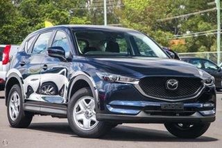2020 Mazda CX-5 KF2W7A Maxx SKYACTIV-Drive FWD Blue 6 Speed Sports Automatic Wagon.