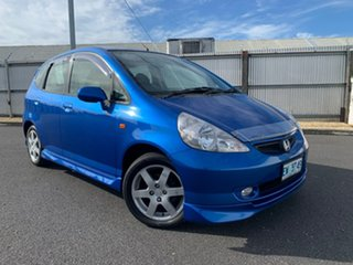 2004 Honda Jazz GD VTi-S Blue 7 Speed Constant Variable Hatchback.