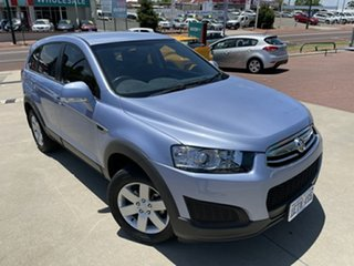 2014 Holden Captiva CG MY14 7 LS Blue 6 Speed Sports Automatic Wagon.