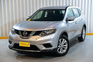 2017 Nissan X-Trail T32 Series 2 ST-L (2WD) Silver Continuous Variable Wagon.