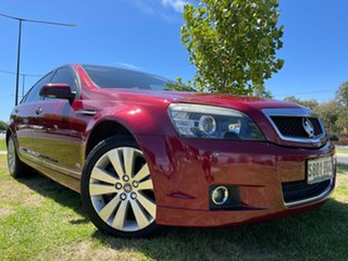 2008 Holden Caprice WM Red/Black 6 Speed Sports Automatic Sedan.