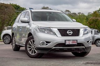 2015 Nissan Pathfinder R52 MY15 ST-L X-tronic 2WD Silver 1 Speed Constant Variable Wagon.