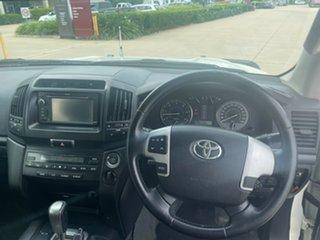 2012 Toyota Landcruiser VDJ200R MY12 Altitude White 6 Speed Sports Automatic Wagon
