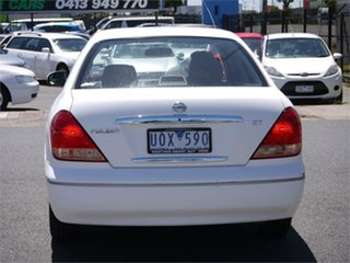 2005 Nissan Pulsar N16 ST White Automatic Sedan