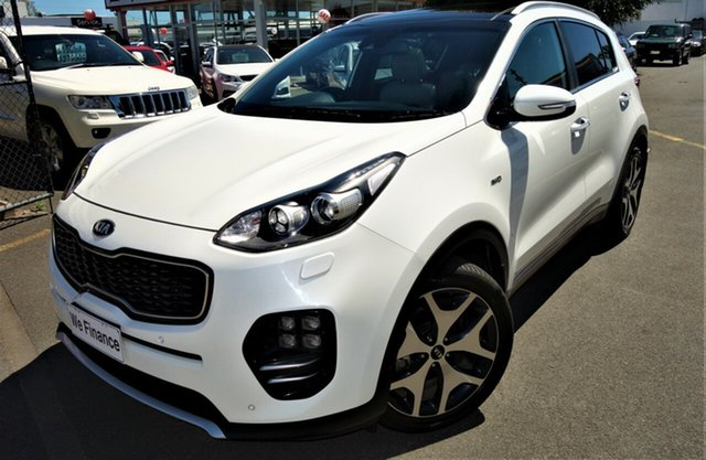 Used Kia Sportage QL MY16 Platinum AWD Seaford, 2016 Kia Sportage QL MY16 Platinum AWD White 6 Speed Sports Automatic Wagon