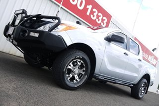 2015 Mazda BT-50 UP0YF1 XT Silver 6 Speed Manual Utility.