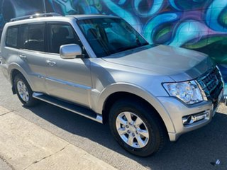 2020 Mitsubishi Pajero NX MY21 GLX Sterling Silver 5 Speed Sports Automatic Wagon.