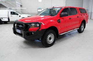 2017 Ford Ranger PX MkII XL Hi-Rider Red 6 Speed Sports Automatic Utility.