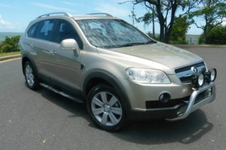 2009 Holden Captiva CG MY09 LX Gold 4 Speed Auto Active Select Wagon.