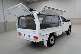 2017 Toyota Hilux GUN125R Workmate White 6 Speed Sports Automatic Cab Chassis