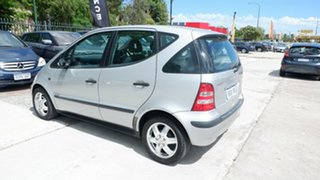 2004 Mercedes-Benz A-Class W168 MY03.5 A160 Classic Silver 5 Speed Automatic Hatchback