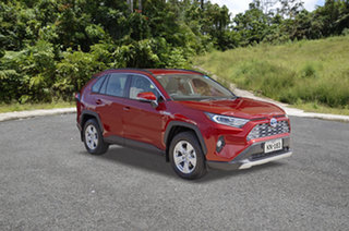 Toyota RAV4 Hybrid Red Mica Metallic Automatic.