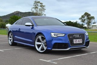 2013 Audi RS5 8T MY13 S Tronic Quattro Blue 7 Speed Sports Automatic Dual Clutch Coupe.