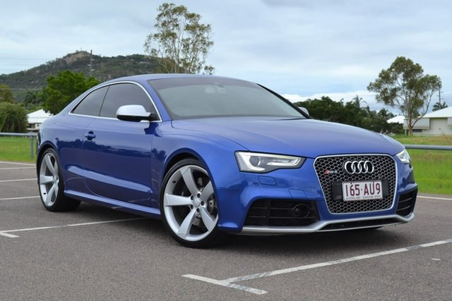 Used Audi RS5 8T MY13 S Tronic Quattro Mundingburra, 2013 Audi RS5 8T MY13 S Tronic Quattro Blue 7 Speed Sports Automatic Dual Clutch Coupe