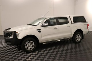 2014 Ford Ranger PX XLT Double Cab White 6 speed Automatic Utility