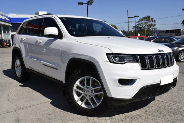 Used Jeep Grand Cherokee WK MY17 Laredo Ferntree Gully, 2017 Jeep Grand Cherokee WK MY17 Laredo White 8 Speed Sports Automatic Wagon