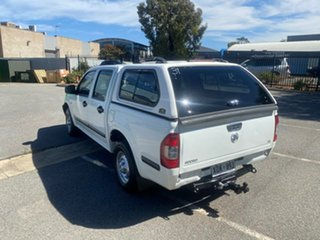 2005 Holden Rodeo RA MY05 LX Crew Cab 4x2 White 5 Speed Manual Utility