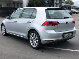 2013 Volkswagen Golf VII 110TDI DSG Highline Silver 6 Speed Sports Automatic Dual Clutch Hatchback