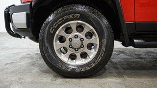 2012 Toyota FJ Cruiser GSJ15R Red 5 Speed Automatic Wagon