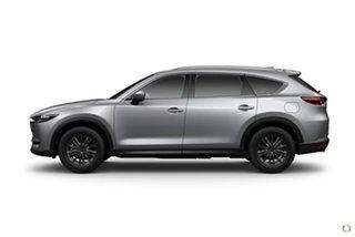 2020 Mazda CX-8 KG2WLA Touring SKYACTIV-Drive FWD Silver 6 Speed Sports Automatic Wagon.