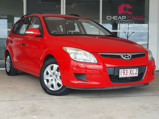 Used Hyundai i30 FD MY09 SX cw Wagon Brendale, 2009 Hyundai i30 FD MY09 SX cw Wagon Red 4 Speed Automatic Wagon