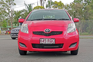 2011 Toyota Yaris NCP90R MY11 YR Cosmopolitan 4 Speed Automatic Hatchback.