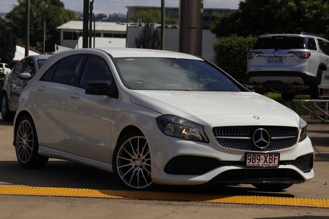 Used Mercedes-Benz A-Class W176 807MY A200 D-CT Toowoomba, 2016 Mercedes-Benz A-Class W176 807MY A200 D-CT Cirrus White 7 Speed Sports Automatic Dual Clutch