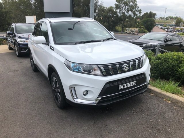 Demo Suzuki Vitara LY Series II Turbo 2WD Maitland, 2020 Suzuki Vitara LY Series II Turbo 2WD White 6 Speed Sports Automatic Wagon